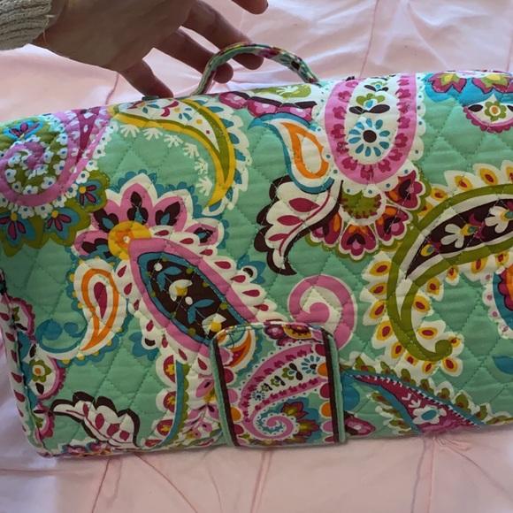 Vera Bradley diaper changing travel pad